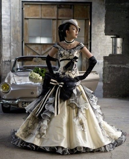 steampunk girl robe de mari pinterest robe robe princesse et robe de bal. Black Bedroom Furniture Sets. Home Design Ideas