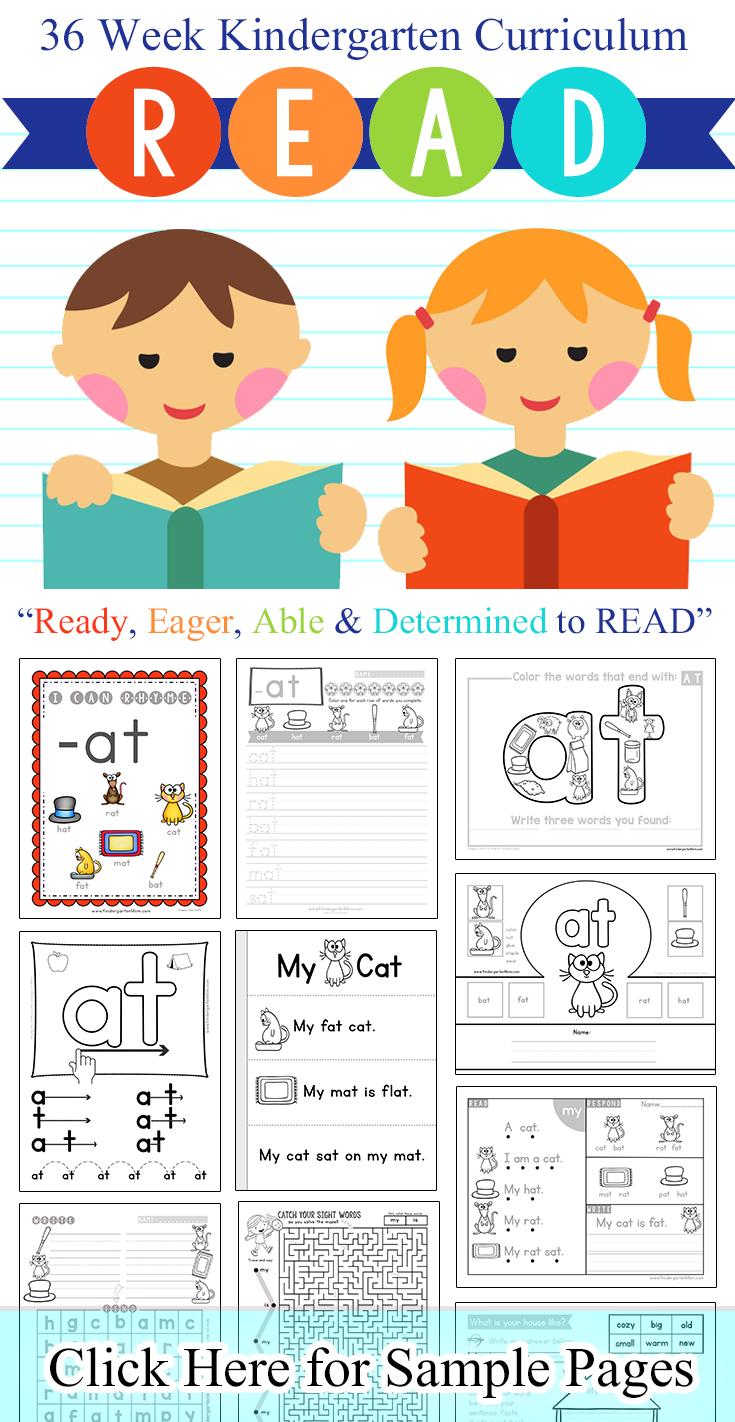Learn To Read Curriculum Notebook Sight Words Printables Kindergarten Reading Curriculum Curriculum [ 1422 x 735 Pixel ]