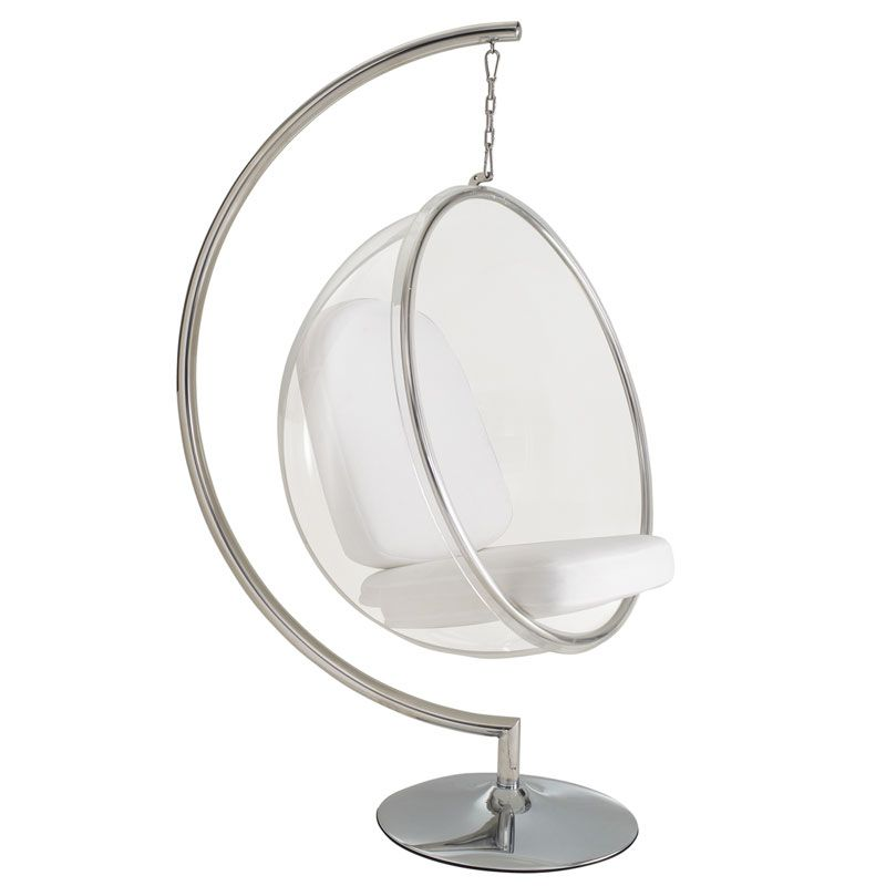 Scoop Hanging Chair With Stand Bubble Chair Hanging Chair Modern Hanging Chairs