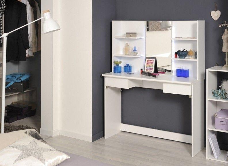Frivole White Beauty Bar Parisot Homeline Furniture