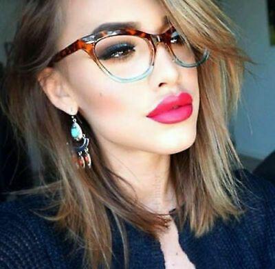 Details about Retro Slim Gradient CAT EYE Clear Women WaYfe Fashion Eye Glasses Frames 1404 S