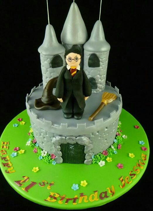 By Fabulous Cakes, Harry Potter Cake