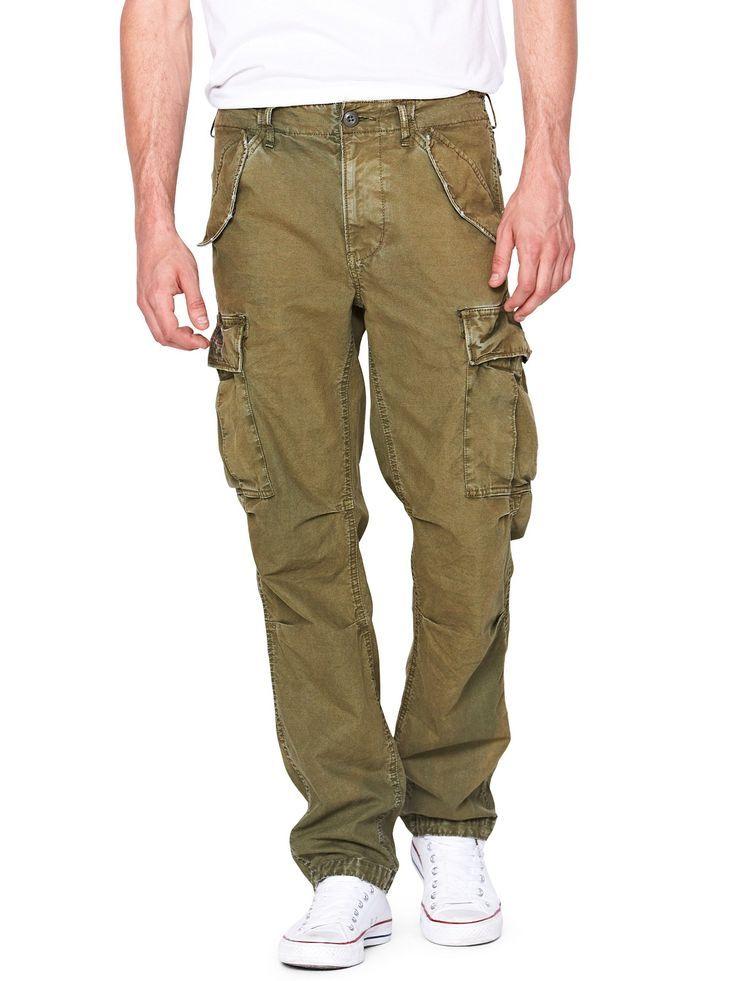 Denim Supply - Ralph Lauren Mens Field Cargo Pants .