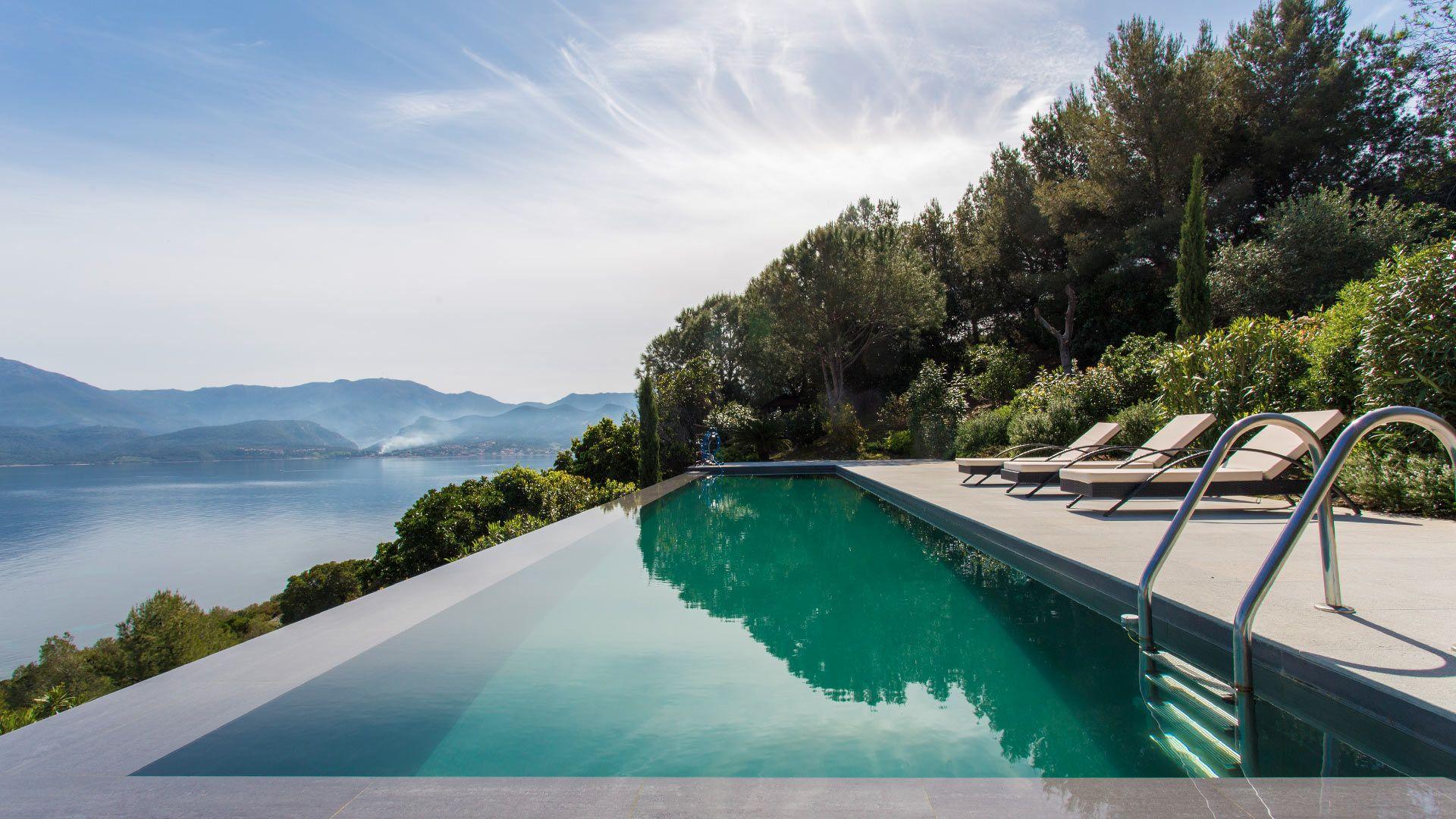 Villa Jasmin corsica swimmingpool views villanovo