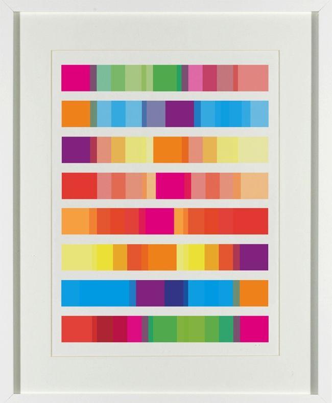Colour block print hardtofind