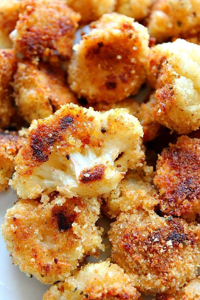 Photo of Roasted Garlic Parmesan Cauliflower Recipe