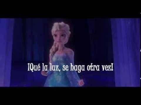 "- Frozen: El reino de hielo (Con letra) Suéltalo: Informal tú commands: print off lyrics and have them highlight all commands in the song then play! ""Si hacemos un muñeco"" (Do you wanna build a snowman) also has many informal commands: ""Déjame en paz, Anna."""