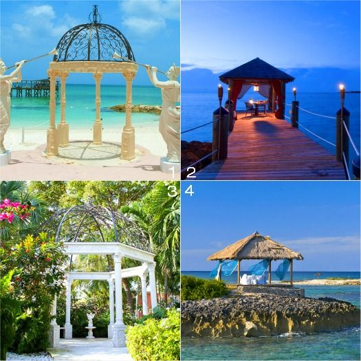 Destination wedding locations choices at sandals royal for Local venues for weddings