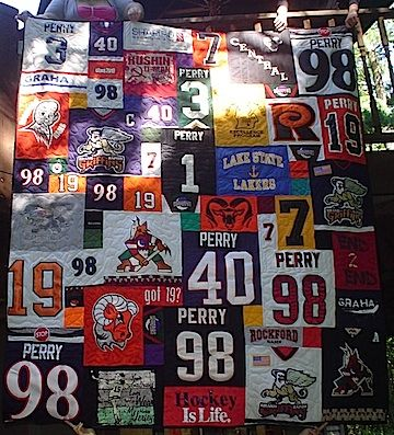 Everything You Need To Know About Hockey Jersey Quilts Jersey Quilt Sports Quilts Quilts