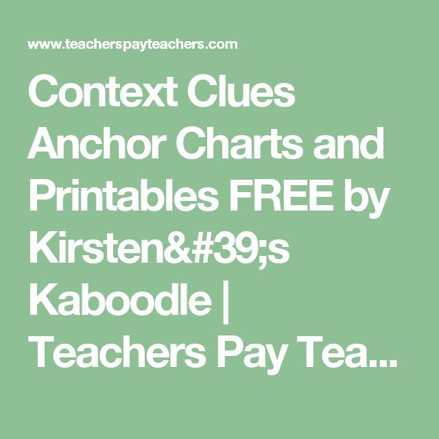 FREE Context Clues Activites