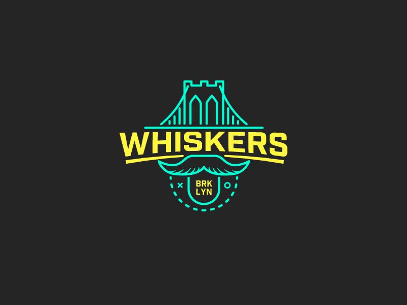 brooklyn whiskers fantasy basketball logo by mathias temmen munich