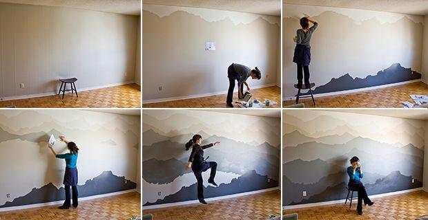 Idee per dipingere le pareti: sfondi acquerellati e ...