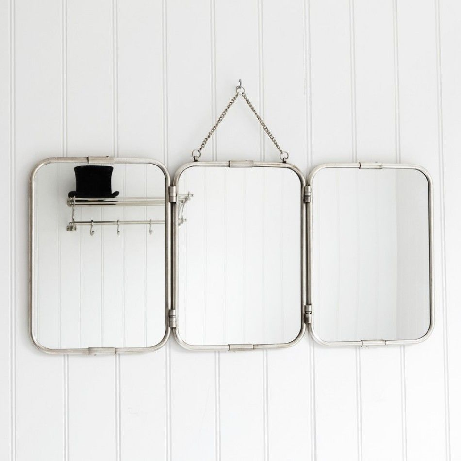 Genial Objects Of Design #51: Trifold Mirror   Mad About The House