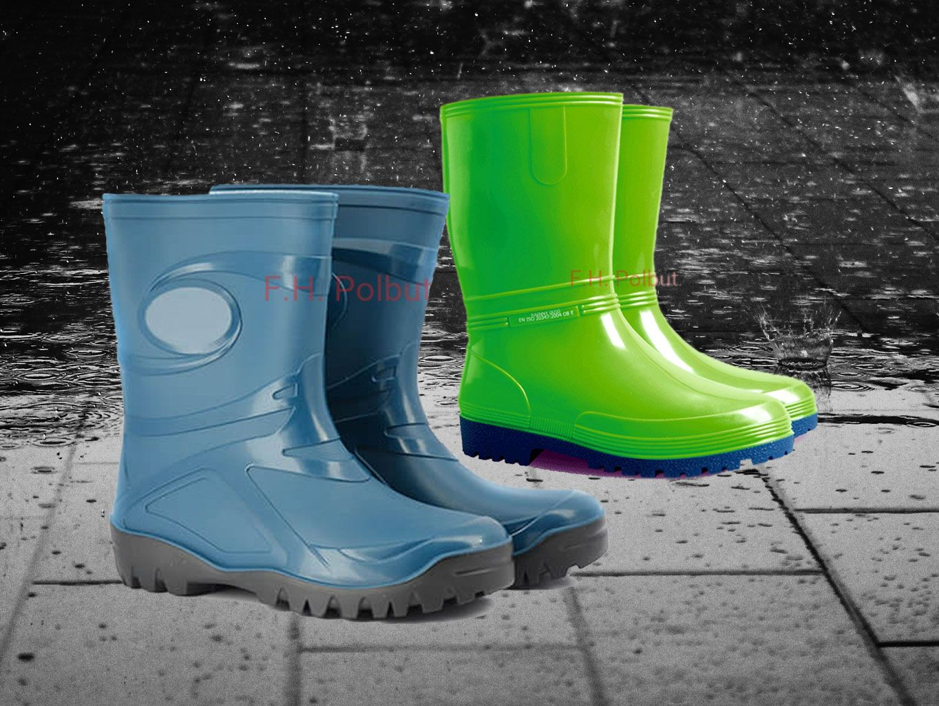 Demar Wellington Boots if you love alone walking in rainy days