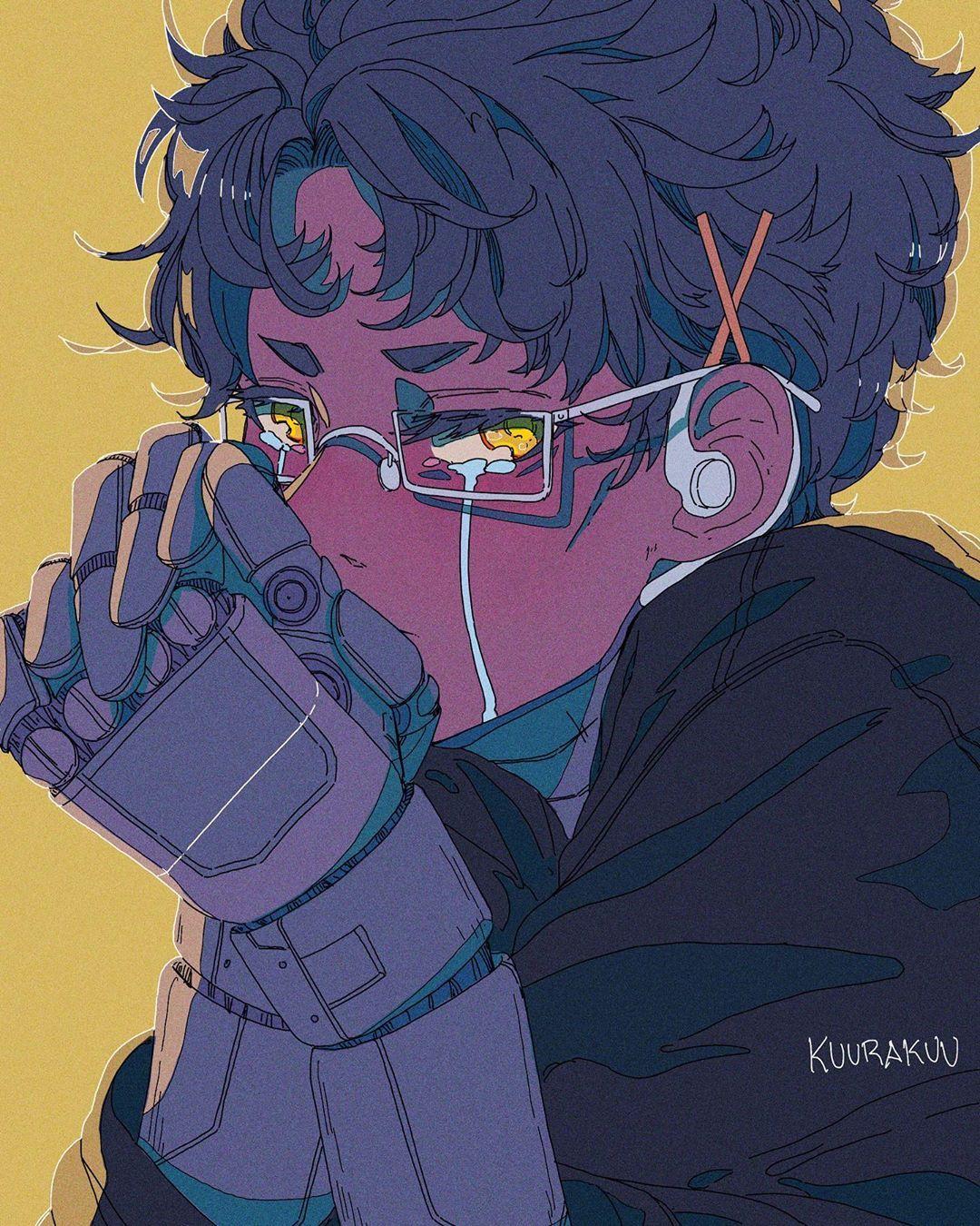 Cyborg Crybaby I Love Tao So Much Yet I Barely Ever Draw Him He Is A Good Boy Illustration Digitalart Digitalartist Boy Art Cute Art Art