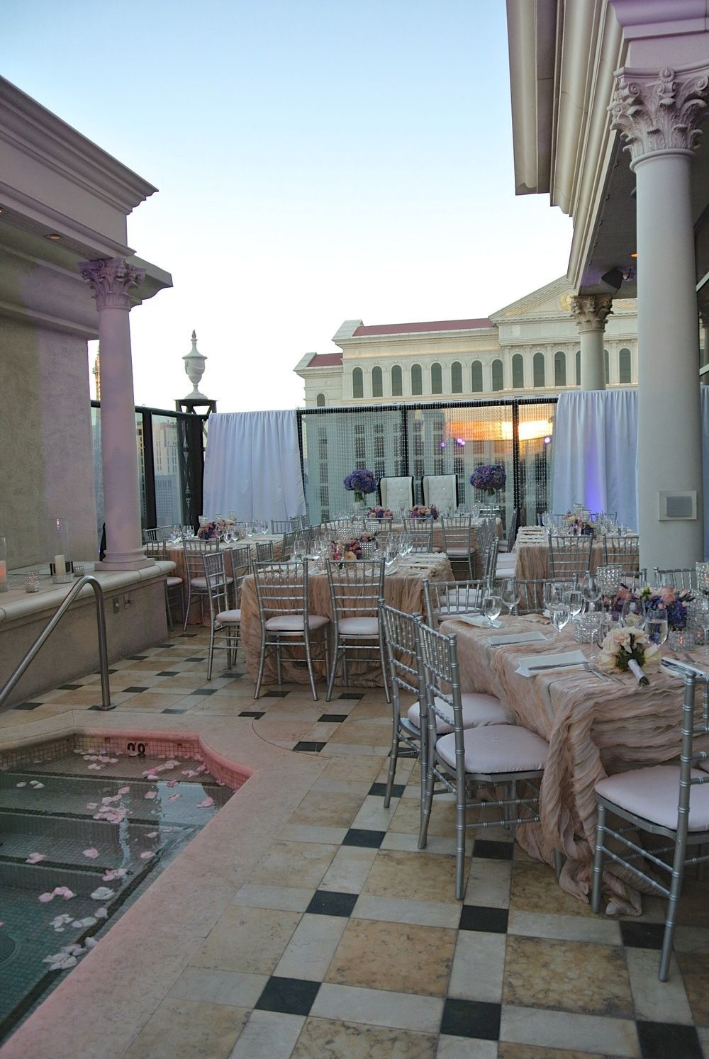 The penthouse villas of Caesars Palace are not available