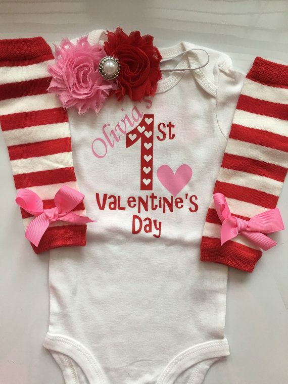 Baby Girl Outfit Baby Valentines Day Outfit 1st Valentines Etsy Baby Valentines Day Outfit Baby Valentines Outfit Baby Girl Valentine Outfit