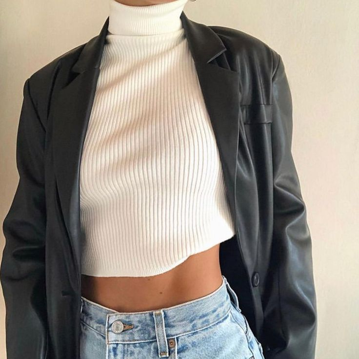 Photo of Jacques Blazer – Faux Leather – Pre Order