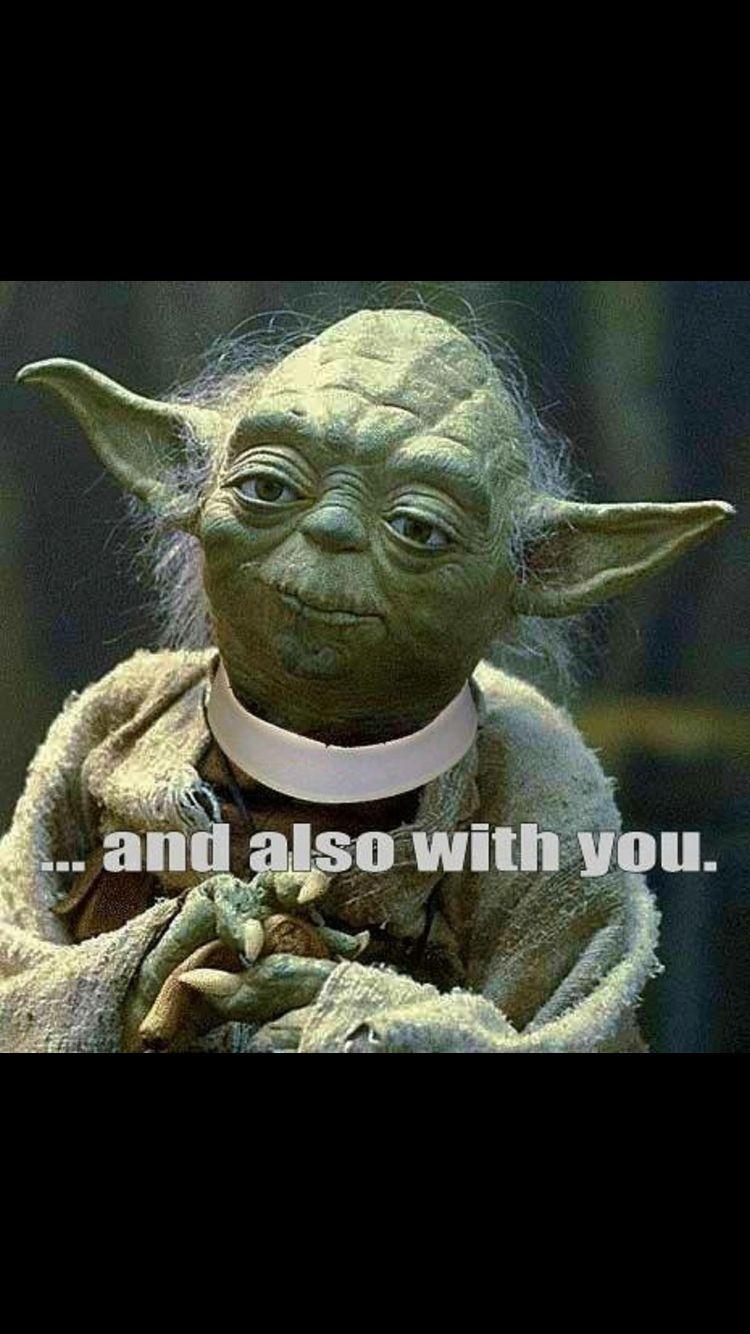 Episcopal And Star Wars Star Wars Yoda Yoda