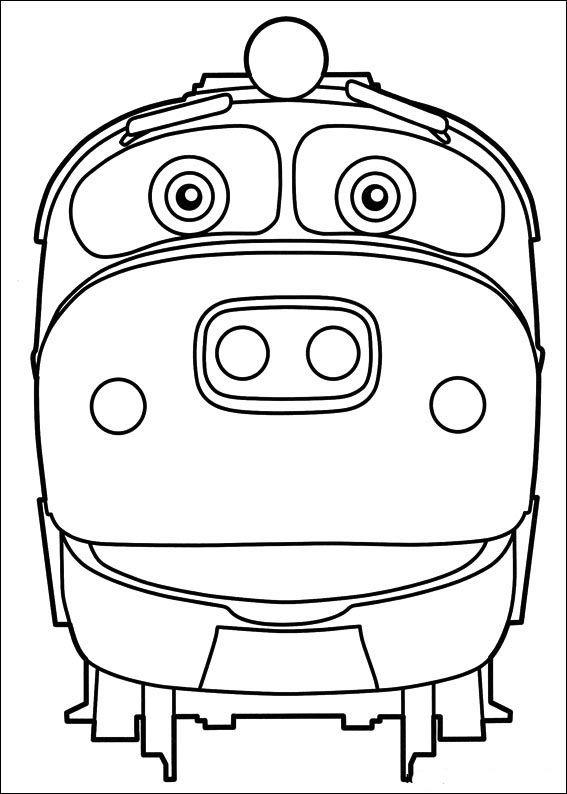 Dibujos para Colorear Chuggington 1 | Dibujos para colorear para ...