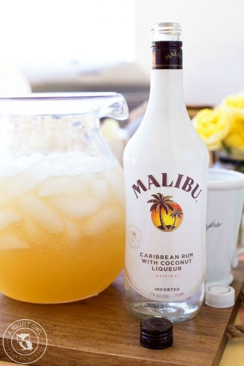 Pineapple rum punch recipe pineapple rum rum and easy for The perfect drink mixer