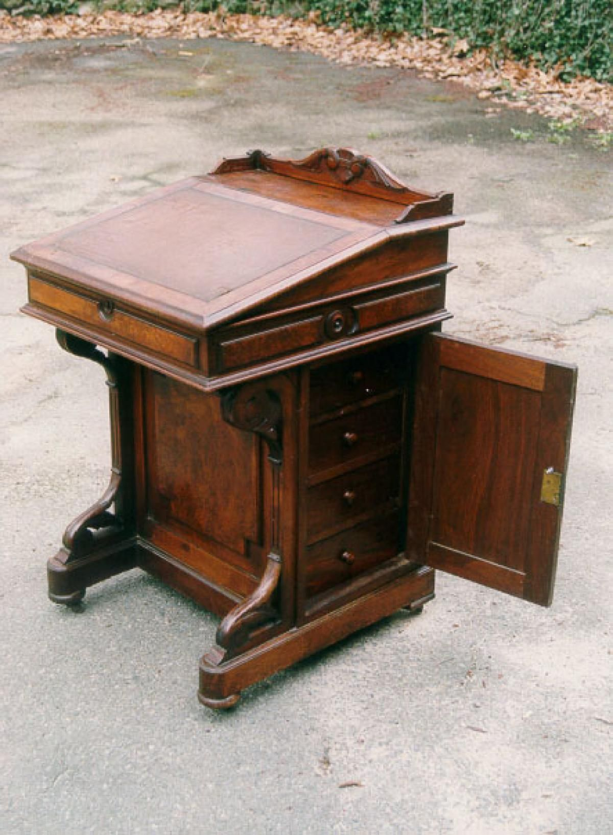 Antique American furniture Davenport Desk - Antique American Furniture Davenport Desk Antiques In 2018