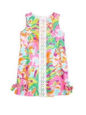 f4d74e4c1 Lilly Pulitzer Kids - Infant's Two-Piece Delia Floral Shift Dress & Bloomers  Set - Saks.com