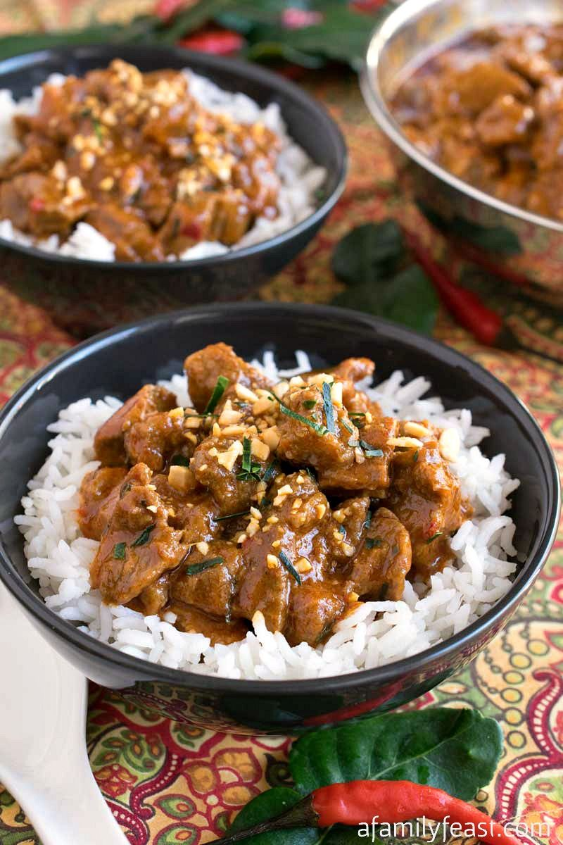 Panang Beef Curry   Recipe   Beef curry, Indian food ...