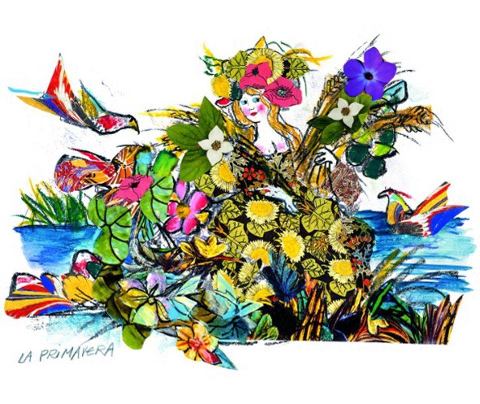 Lele Luzzati La primavera Lele Luzzati Pinterest