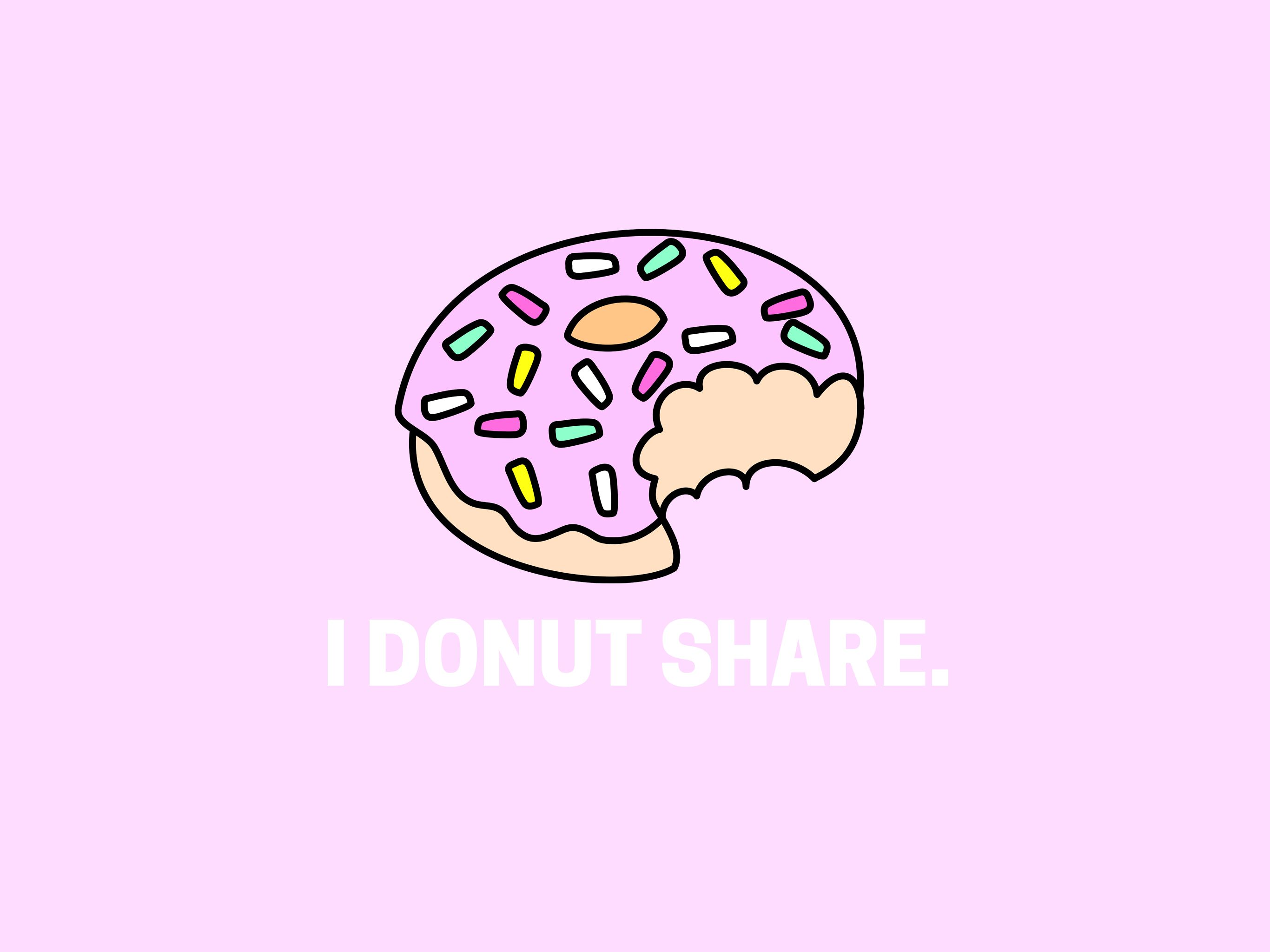 Pastel thingz by Sourpatchbabydoll Donuts, Wallpaper