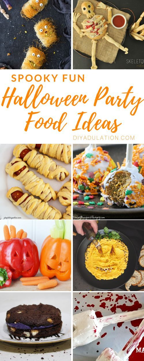 Spooky Fun Halloween Party Food Ideas Halloween Pinterest - spooky food ideas for halloween