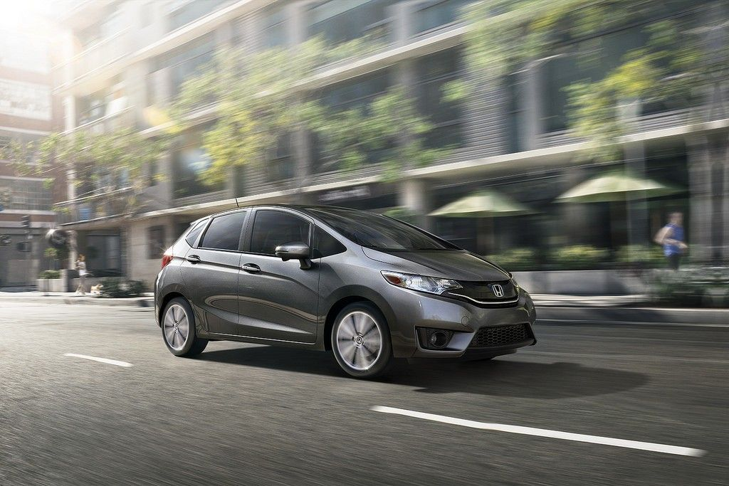 Honda Division Collects New Annual Auto Sales Record Honda Fit 2015 Honda Fit Cars For Sale