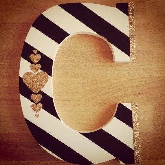 best 25  painted wood letters ideas on pinterest