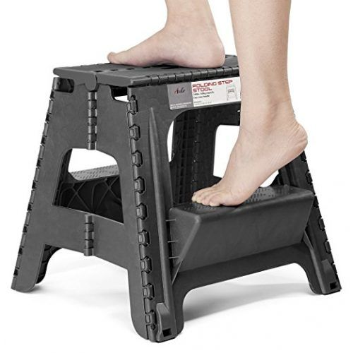 Excellent Acko 2 In 1 Dual Purpose Stool Two Step Ladder 2 Step Ocoug Best Dining Table And Chair Ideas Images Ocougorg
