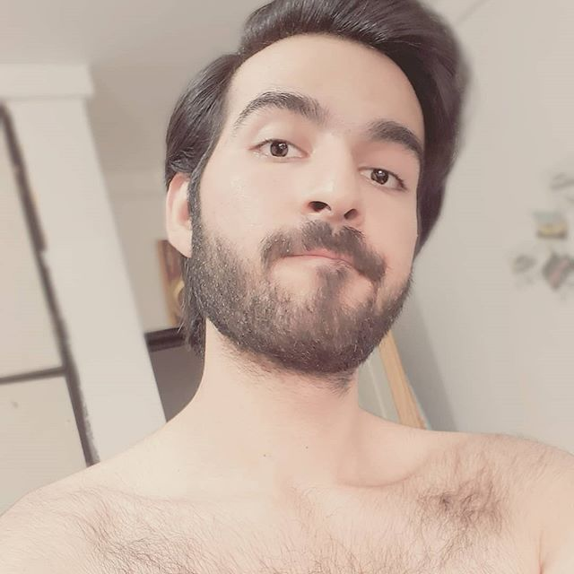 facial gay Fashion hair