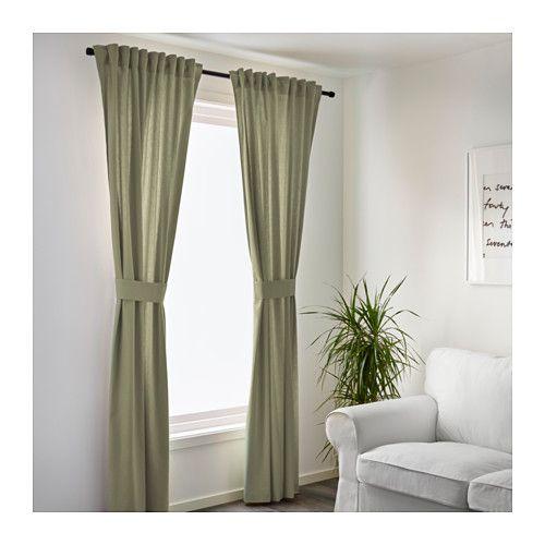 ingert 2 gardinen raffhalter ikea zimmer junge pinterest gardinen jungs und wohnzimmer. Black Bedroom Furniture Sets. Home Design Ideas