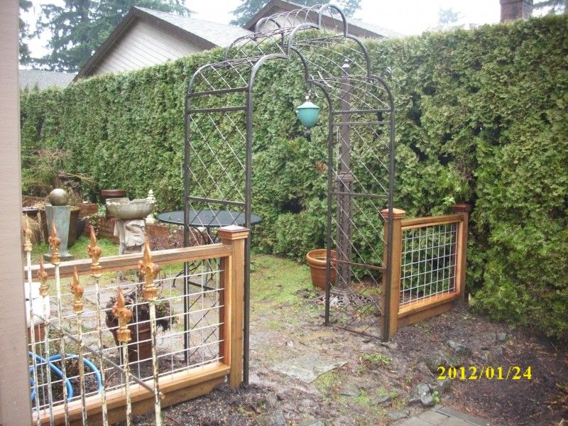hogwire fence pictures | hog panel gate hog panel fencing galvanized ...