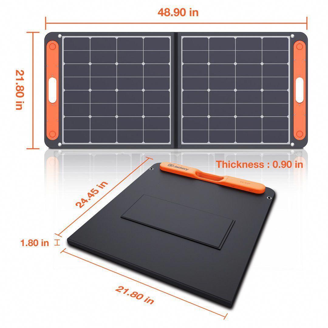 Jackery Solarsaga 100w Solar Panel In 2020 Monocrystalline Solar Panels Solar Panel System Solar Power