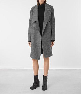Women's Ellis Coat (Grey) -