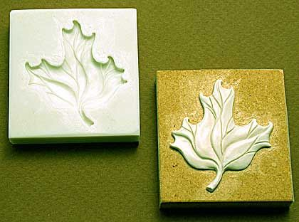 Chase Creative molds : Leaf A PMC & Polymer clay mold