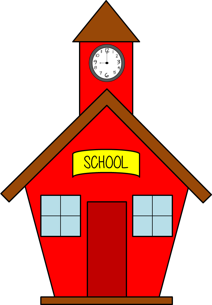 back to school free owls and a challenge pinterest clip art rh pinterest com school house clip art images clipart schoolhouse