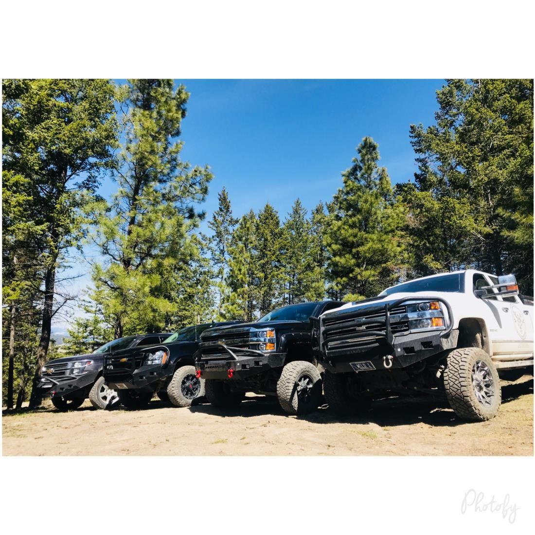 Heavy Duty DIY Truck Bumpers MOVE Bumpers en 2020