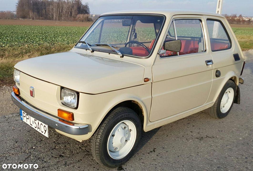 Fiat 126 Fiat 126 P 600 Licencja Fiat 1975 Original 1 Wlasciciel 1