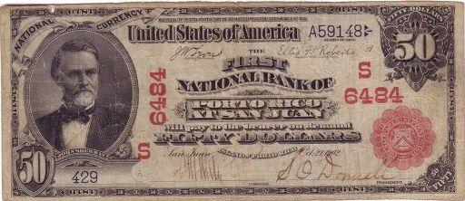 1916 Puerto Rico