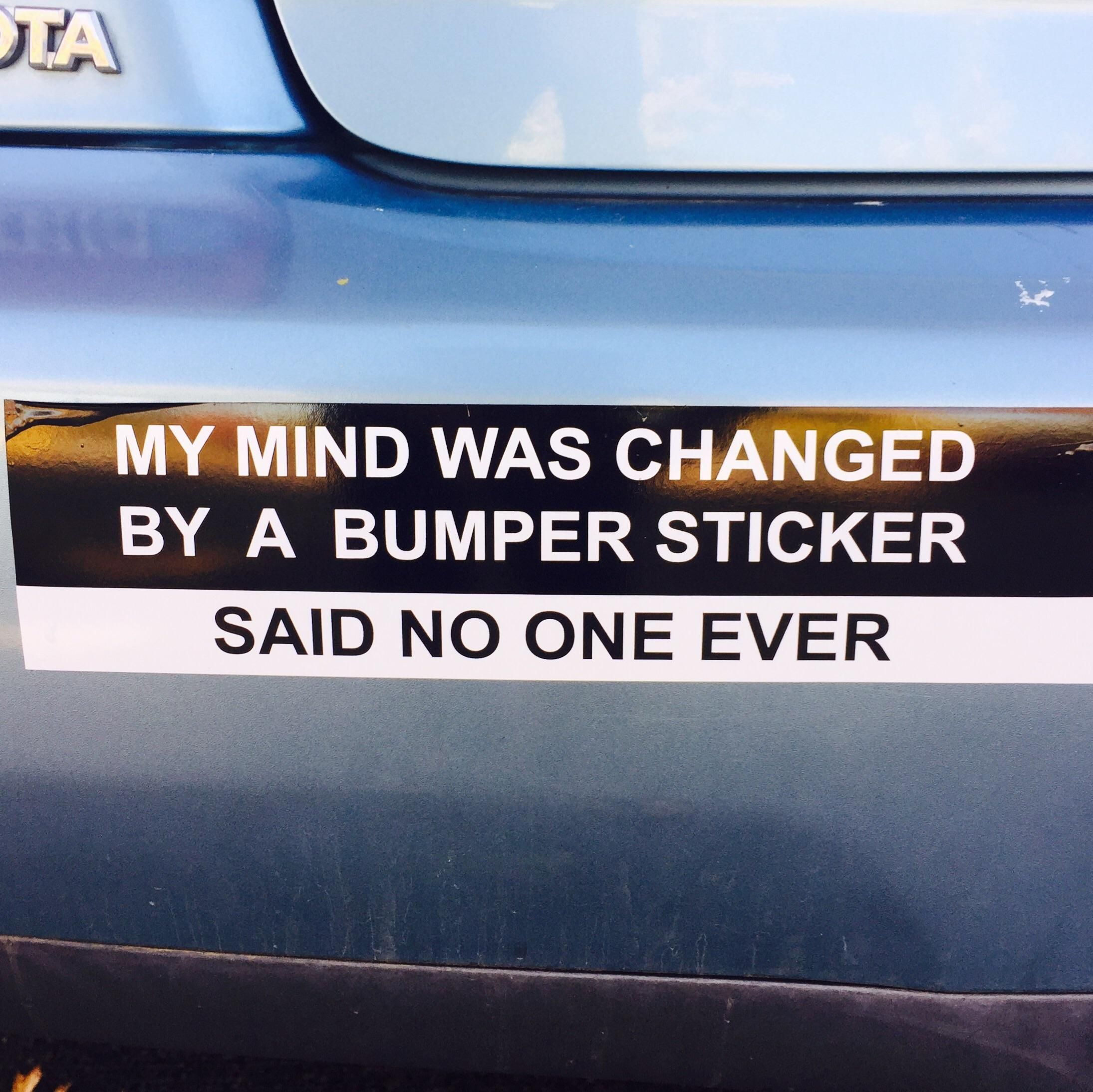 C00pdawgi Made A Bumper Sticker Https I Redd It 29rp6bkv4ntz Jpg Funny Pictures Internet Funny Bumper Stickers [ 2189 x 2190 Pixel ]