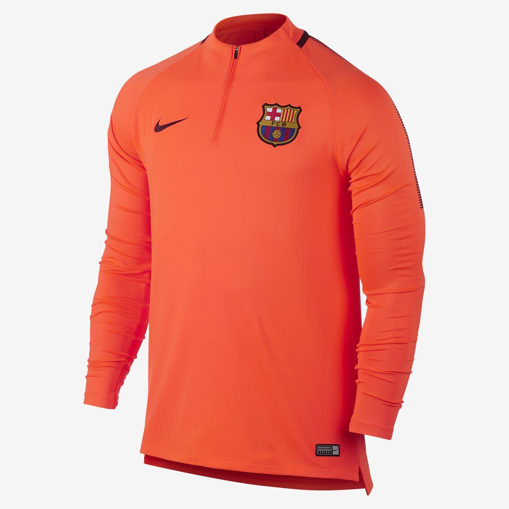 c14d6f6cf129 FC Barcelona Dri-FIT Squad Drill Men s Football Top