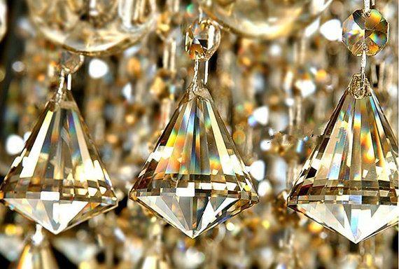Bulk 25 champagne crystal chandelier diamond by blingflingboutique bulk 25 champagne crystal chandelier diamond by blingflingboutique 8900 aloadofball Images