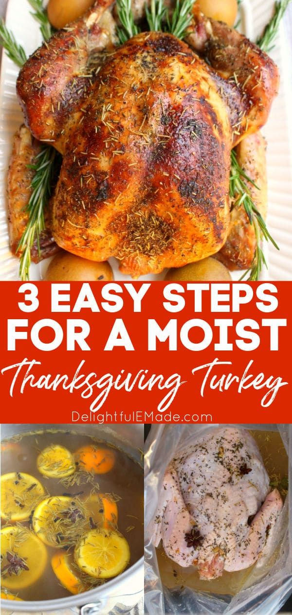 Want to know How to Brine a Turkey? {The BEST Way to Cook a Moist, Delicious Turkey!} -   19 thanksgiving recipes turkey easy ideas