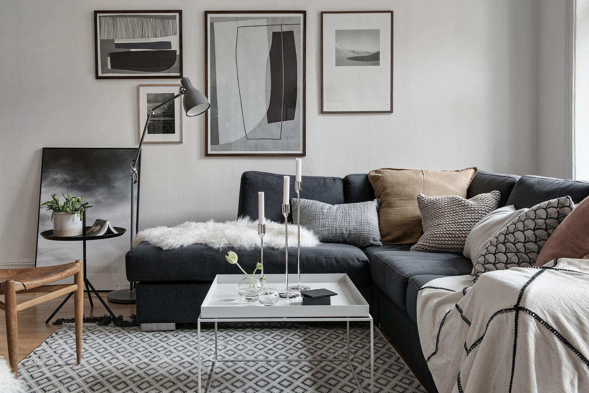 Olivedalsgatan 15 B Modern Farmhouse Living Room Decor Cosy Living Room Scandinavian Design Living Room