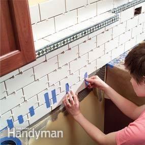 Installing Kitchen Backsplash And New Vent Hood Kitchen